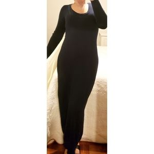 VS Maxi Sweater Dress